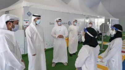"""خالد بن محمد بن زايد يؤكد أهمية استراتيجية الفحوصات المكثفة للحد من انتشار """"كوفيد 19"""""""