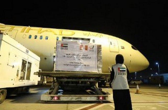 الإمارات ترسل طائرة مساعدات إلى بيرو لتعزيز جهودها في مكافحة
