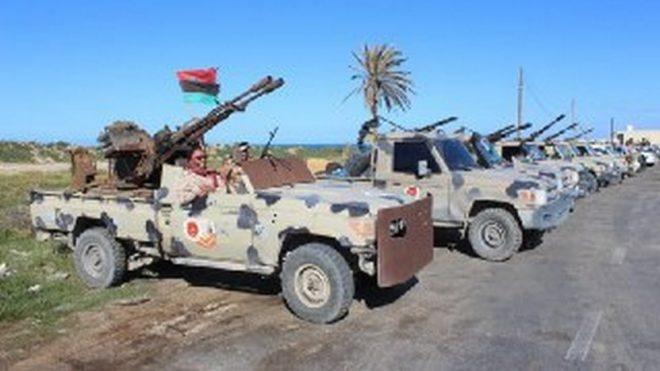 الجيش الليبي يدحر المرتزقة ويجبرها على الانسحاب من الوطية