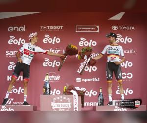 دافيد فورمولو دراج فريق الإمارات : فخور بالتتويج في ستراده بيانكا ومستعد لجولة فرنسا