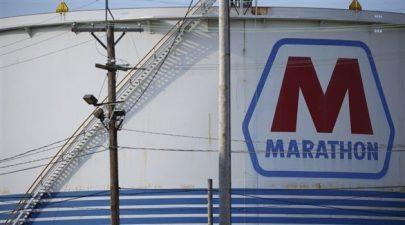 """ماراثون بتروليوم"""" تغلق اثنتين من مصافي النفط"""