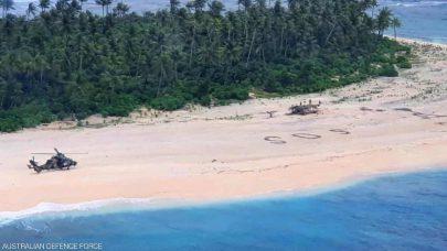 3 أحرف تنقذ حياة بحارة في جزيرة نائية بالمحيط الهادئ