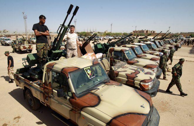 حراك دولي واسع لأقامة منطقة منزوعة السلاح في ليبيا