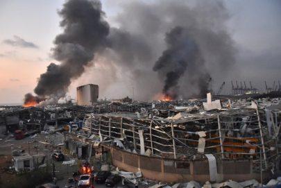 بيروت تهتز في انفجار كارثي يوقع عشرات القتلى و3 آلاف جريح