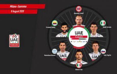 فريق الإمارات للدراجات يعلن جاهزيته لخوض سباق ميلان - سان ريمو