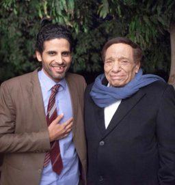 حمدي الميرغني سعيد بالعمل مع عادل إمام