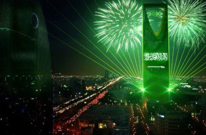 رسائل حب ودعم.. نجوم الفن يحتفلون باليوم الوطني السعودي