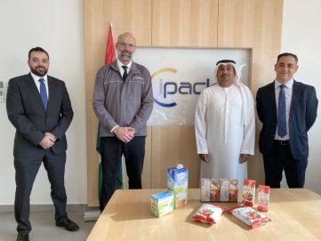"""""""الإمارات للتنمية"""" يمول شركة ipack لإنتاج مواد التعبئة والتغليف المعقمة"""