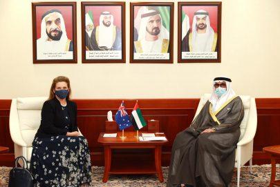 البواردي يبحث مع سفيرة أستراليا علاقات الصداقة و التعاون المشترك