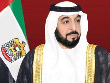 رئيس الدولة ينعي أمير الكويت و يأمر بإعلان الحداد 3 أيام و تنكيس الأعلام