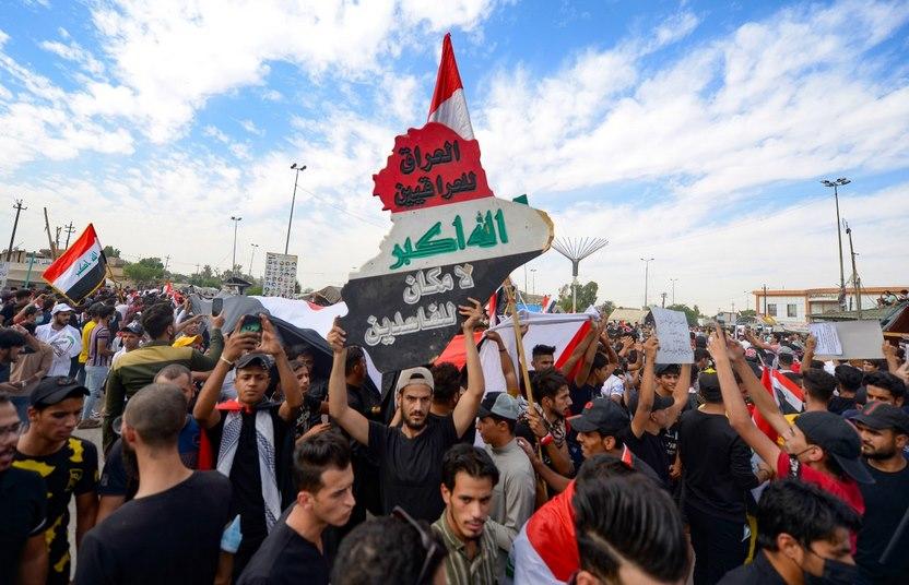 عام على انتفاضة العراق المتواصلة .. غضب متصاعد