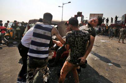 احتجاجات العراق تتواصل متحدية التنكيل