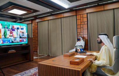 محمد بن راشد: مواقف الإمارات ستبقى واضحة وثابتة ومستمرة في دعم الجهود الدولية للتغلب على كافة التحديات