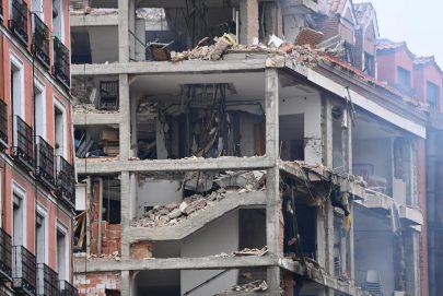 4 قتلى حصيلة ضحايا انفجار تسرب غاز في مدريد