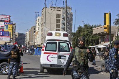 العراق يوقع عشرات القتلى والجرحى وسط بغداد