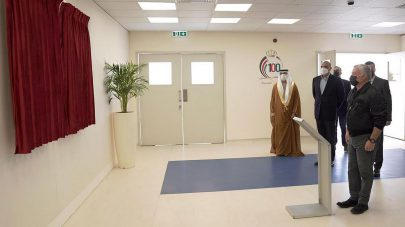 العاهل الأردني يفتتح مستشفى الشيخ محمد بن زايد الميداني في العقبة