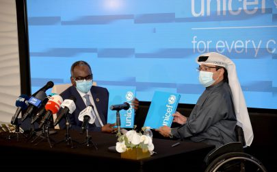 """""""اليونيسف"""" تسمي ماجد العصيمي أول سفير وطني لها من الإمارات"""