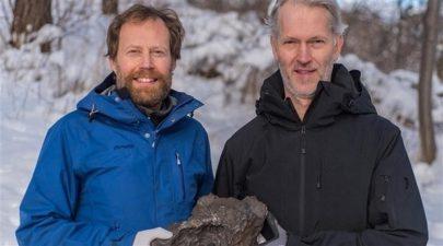 العثور على قطعة تزن 14 كيلوغراماً من بقايا نيزك في السويد