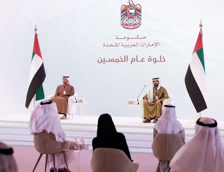 محمد بن راشد ومحمد بن زايد: الخمسين سنة القادمة تحتاج سرعة أكبر وإنجازات أضخم