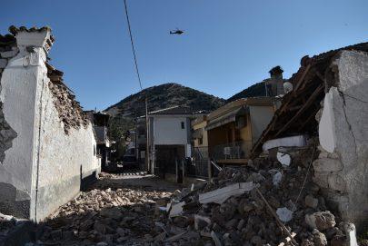 11 جريحاً حصيلة زلزال قوي وسط اليونان