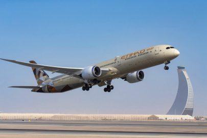 """""""الاتحاد للطيران"""" تنقل 4.2 مليون مسافر خلال 2020"""