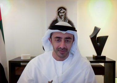 عبدالله بن زايد: الاستجابة الإماراتية والبحرينية لأزمة