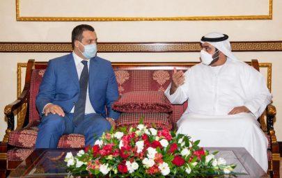 محمد الشرقي يستقبل رئيس الاتحاد الدولي للملاكمة