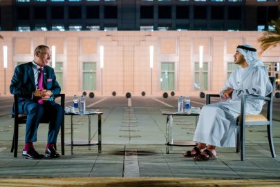 عبدالله بن زايد يبحث العلاقات مع المبعوث الإسرائيلي إلى دول الخليج العربي