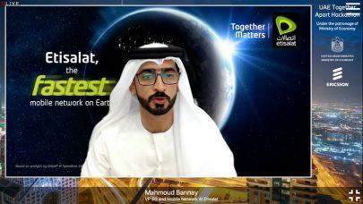 """""""اتصالات"""" تشارك في هاكاثون الإمارات 2021 """"معاً عن بُعد"""""""
