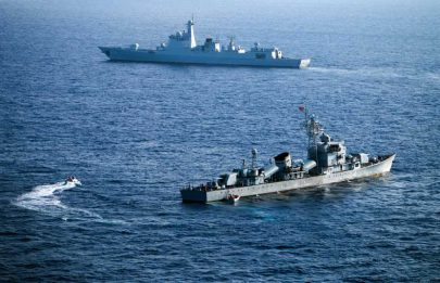 سيناريوهات المواجهة البحرية بين أميركا والصين