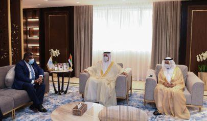 صقر غباش يبحث تعزيز العلاقات مع أمين عام الاتحاد البرلماني الدولي
