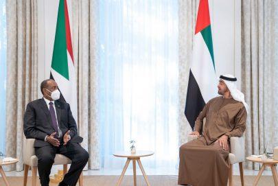 محمد بن زايد: الإمارات حريصة على دعم جهود السودان في تعزيز السلام والاستقرار والتنمية خاصة خلال المرحلة المفصلية من تاريخه