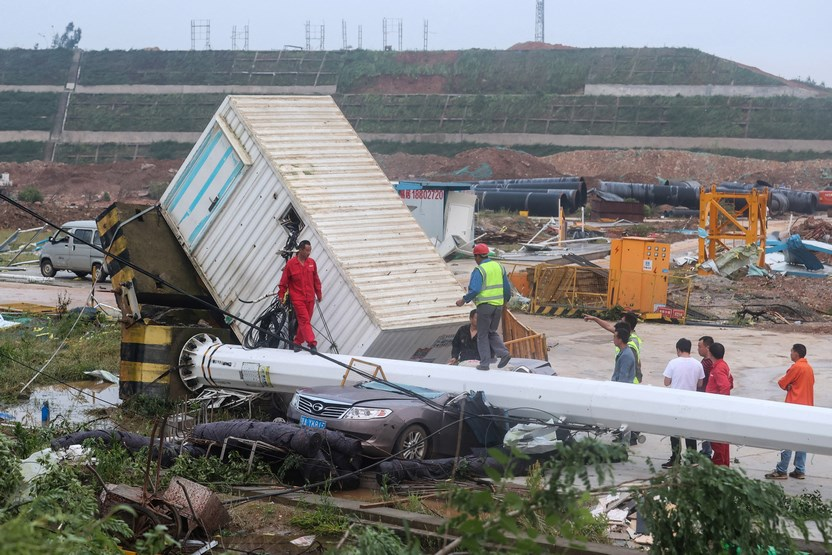 مصرع 10 جراء إعصارين في الصين