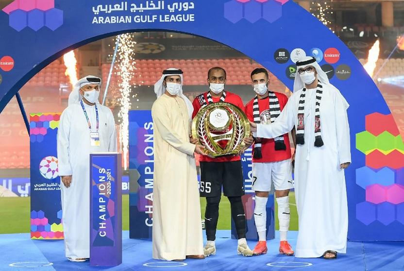 الاتحاد الآسيوي يهنئ نادي الجزيرة لتتويجه بطلاً لدوري الخليج العربي