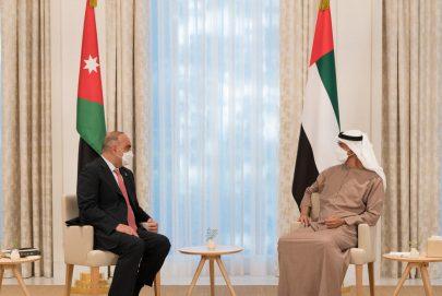 محمد بن زايد يؤكد دور الأردن المحوري ومواقفه التاريخية في حماية المقدسات الإسلامية في فلسطين