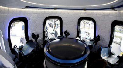 رحلة إلى الفضاء مع المليارديربيزوس في مزاد علني
