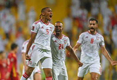منتخب الإمارات يتأهل رسميا إلى الدور الثالث من تصفيات كأس العالم 2022