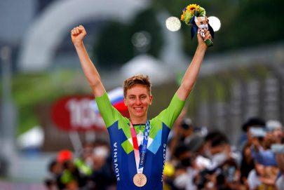 دراج فريق الإمارات بوجاتشار يحرز الميدالية البرونزية في أولمبياد طوكيو