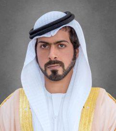 خليفة بن طحنون يعزي في وفاة والد الشهيد جمعه جوهر الزعابي