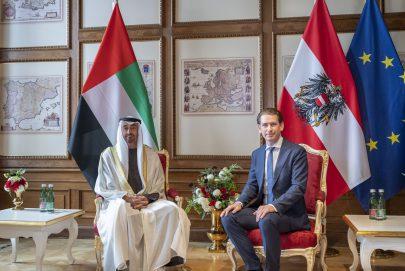 محمد بن زايد: العلاقات بين الإمارات والنمسا قوية وتزداد رسوخاً
