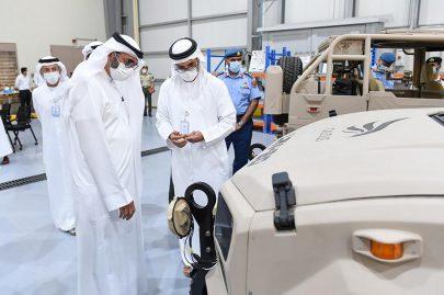 البواردي يزور شركة كالدس للصناعات العسكرية