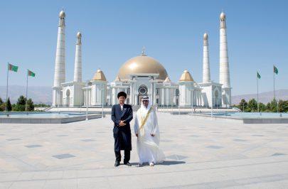الرئيس التركماني يتسلم أوراق اعتماد سفير الدولة