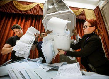 روسيا .. الحزب الحاكم يفوز بأغلبية الثلثين في الانتخابات التشريعية