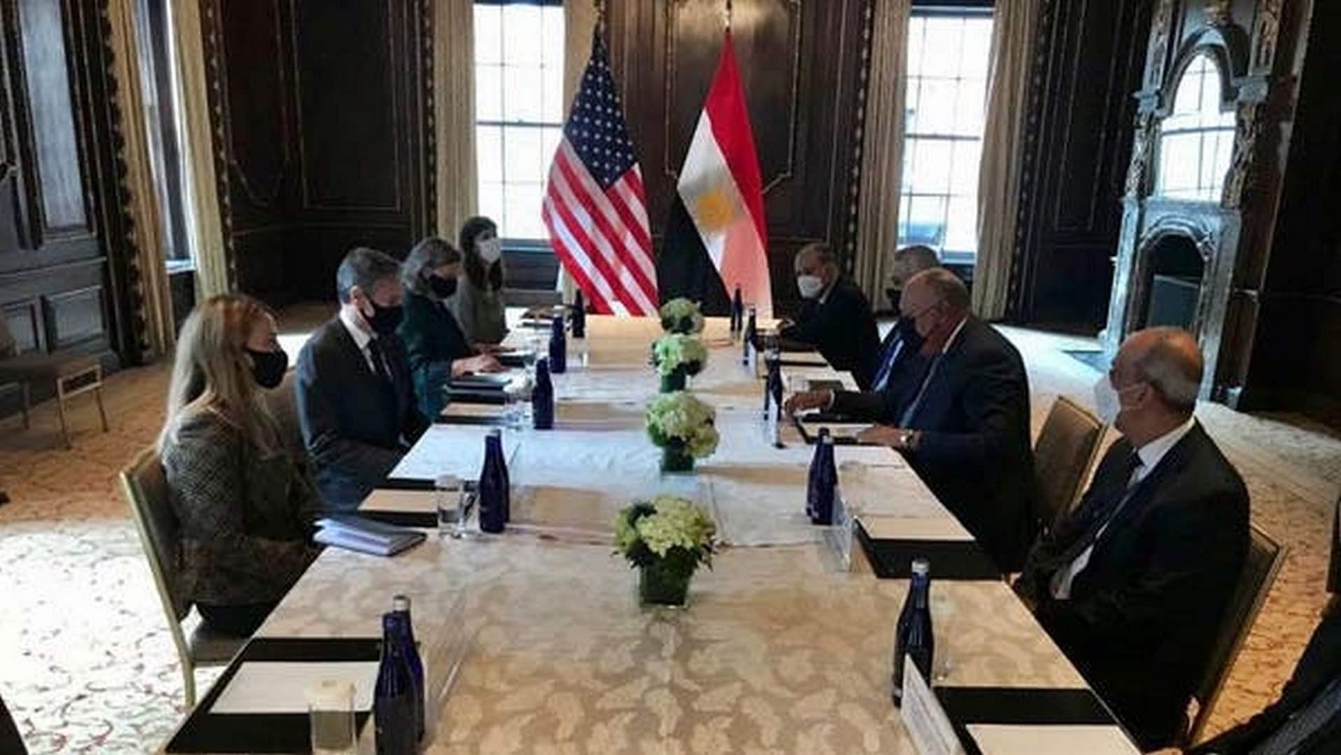 لقاء مصري أمريكي حول القضايا المشتركة