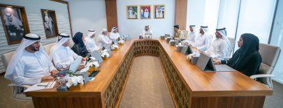 منصور بن محمد يعتمد نتائج الدورة الثامنة من نموذج دبي الرياضي ويوجه بتكريم المتميزين رياضياً