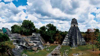 هرم (مايا) في السلفادور بني للحماية من ثوران بركاني