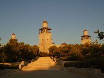 مسجد الملك الحسين في  عمان