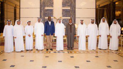 حاكم الفجيرة: الإمارات تؤدي دوراً فاعلاً في دعم عمل منظمة