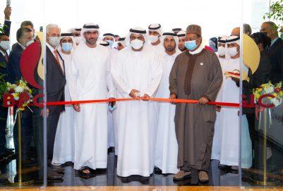 محمد بن حمد الشرقي يفتتح المرحلة الثانية لشركة بروج النفطية