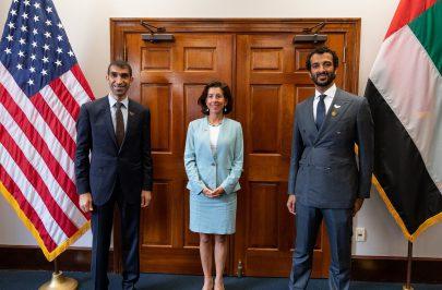 الإمارات وأمريكا تعززان التعاون التجاري وتبحثان خطط تنمية الشراكات